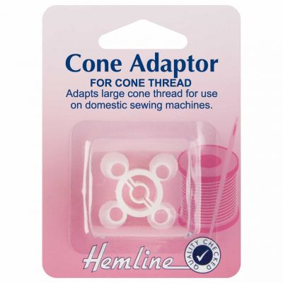Hemline Plastic Cone Adaptor For Domestic Sewing Machines
