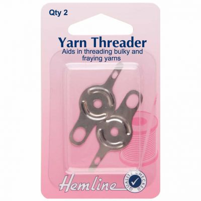 Hemline Yarn Needle Threader 2 Pack