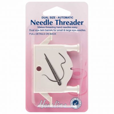 Hemline Automatic Hand Needle Threader Dual Size