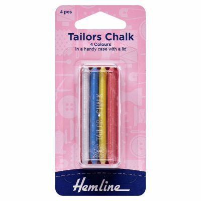 Hemline Tailors Chalk Sticks 4 Pack