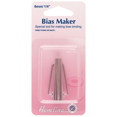 "Hemline Small Bias Tape Maker 1/4"" / 6mm"