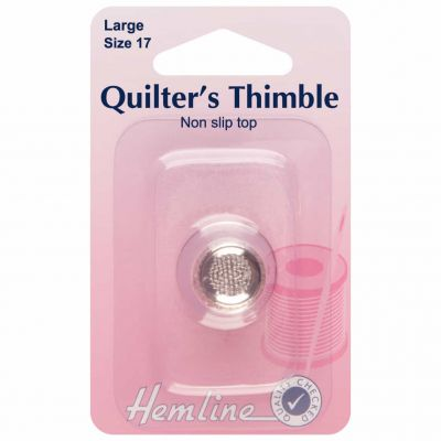 Quilters Thimble Premium Quality - Large - Size 17