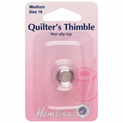 Quilters Thimble Premium Quality - Medium - Size 16