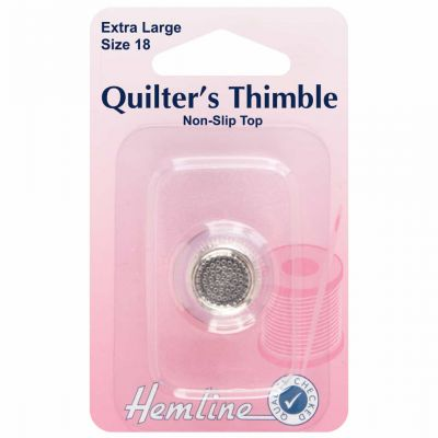 Quilters Thimble Premium Quality - Extra Large - Size 18