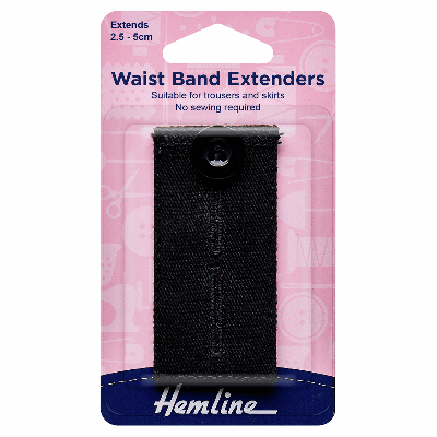 Remnant - 1 x Waistband Extender Button: Black - End of Line
