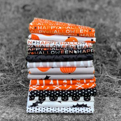 Halloween Fat Quarter Bundle: Happy Halloween - 6 Fabrics