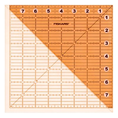 Fiskars Acrylic Folding Square Ruler 8 x 8 Inches