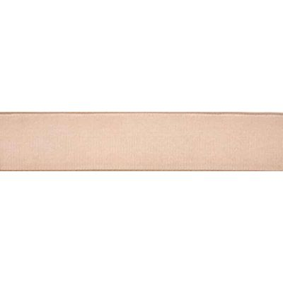 Berisfords Beige Velvet Ribbon