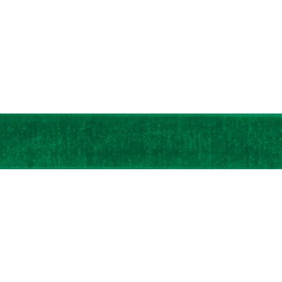 Berisfords Emerald Velvet Ribbon