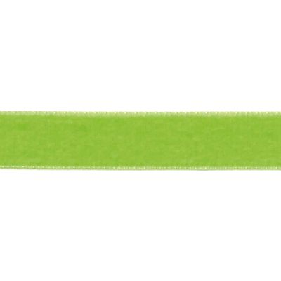 Berisfords Apple Green Velvet Ribbon