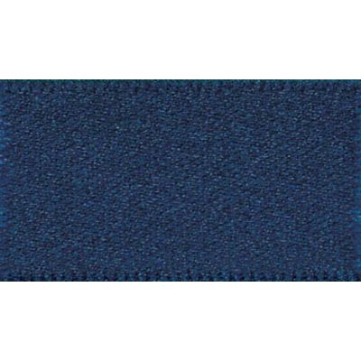 Berisfords Navy Double Satin Ribbon - All Widths