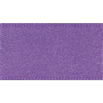 Berisfords Purple Double Satin Ribbon - All Widths