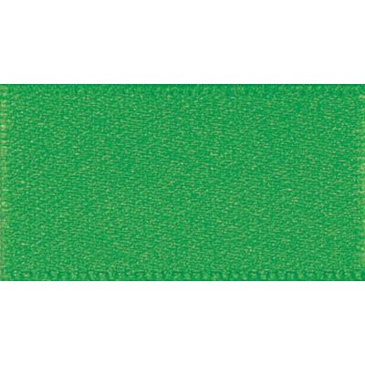 Berisfords Emerald Double Satin Ribbon - All Widths