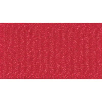 Berisfords Red Double Satin Ribbon - All Widths