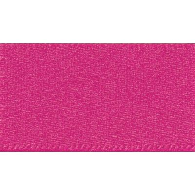 Berisfords Fuchsia Double Satin Ribbon - All Widths