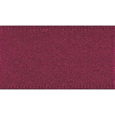 Berisfords Burgundy Double Satin Ribbon - All Widths