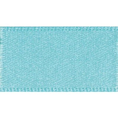 Berisfords New Turquoise Double Satin Ribbon - All Widths