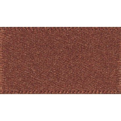 Berisfords Hot Chocolate Double Satin Ribbon - All Widths