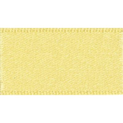 Berisfords Lemon Double Satin Ribbon - All Widths