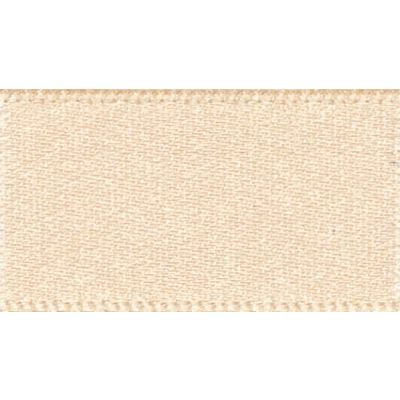 Berisfords Cream Double Satin Ribbon - All Widths