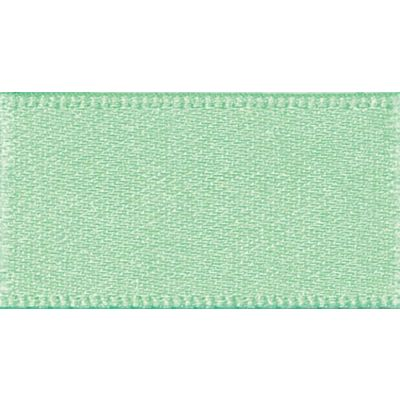 Berisfords Mint Double Satin Ribbon - All Widths