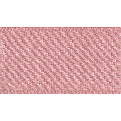 Berisfords Dusky Pink Double Satin Ribbon - All Widths