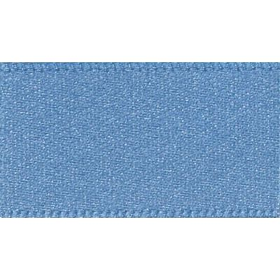 Berisfords Dusky Blue Double Satin Ribbon - All Widths