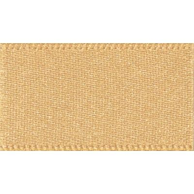 Berisfords Honey Gold Double Satin Ribbon - All Widths