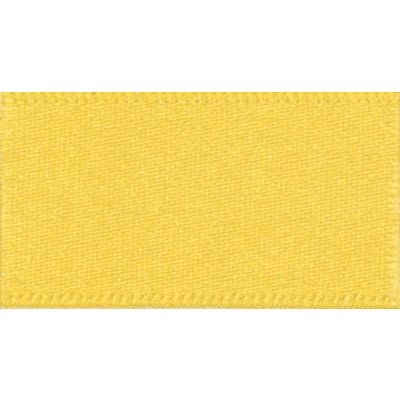 Berisfords Yellow Double Satin Ribbon - All Widths