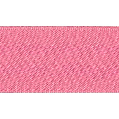Berisfords Fluorescent Pink Double Satin Ribbon - All Widths