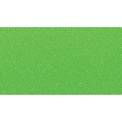 Berisfords Fluorescent Green Double Satin Ribbon - All Widths