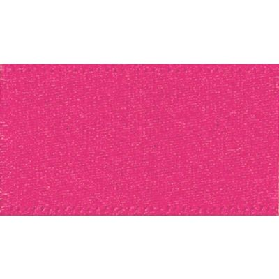 Berisfords Shocking Pink Double Satin Ribbon - All Widths