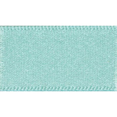 Berisfords Aqua Double Satin Ribbon - All Widths