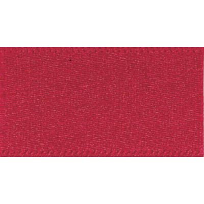 Berisfords Scarlett Berry Double Satin Ribbon - All Widths