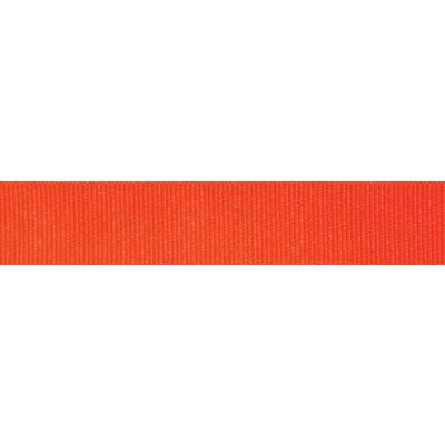 Berisfords Fluorescent Orange Grosgrain Ribbon - All Widths