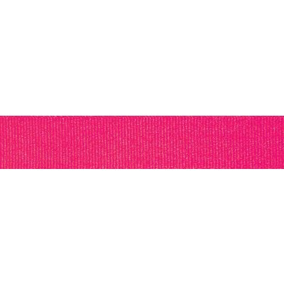 Berisfords Fluorescent Pink Grosgrain Ribbon - All Widths