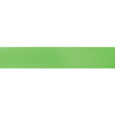 Berisfords Fluorescent Green Grosgrain Ribbon - All Widths