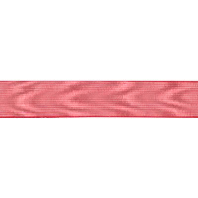 Berisfords Red Super Sheer Ribbon - All Widths