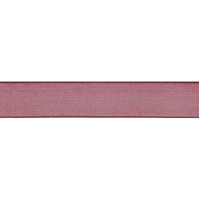 Berisfords Burgundy Super Sheer Ribbon - All Widths