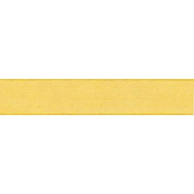 Berisfords Yellow Super Sheer Ribbon - All Widths