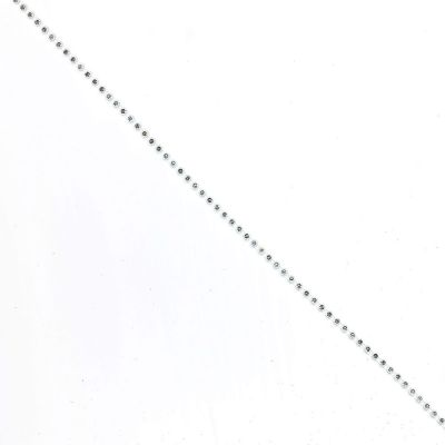 Diamante Trim - Single Row - Silver