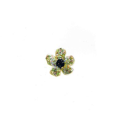 Sequined Motif - Single Flower - 5cm