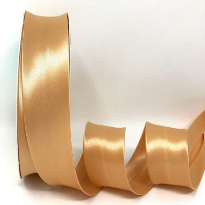 Satin Bias Binding - Gold - 18mm Or 30mm Wide