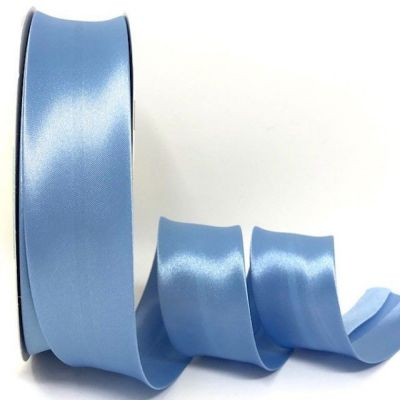 Satin Bias Binding - Powder Blue - 18mm Or 30mm Wide
