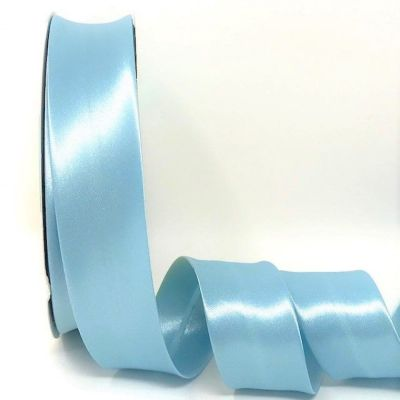 Satin Bias Binding - Ocean Blue - 18mm Or 30mm Wide