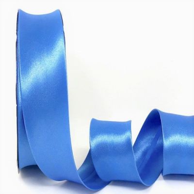 Satin Bias Binding - Cornflower - 18mm Or 30mm Wide