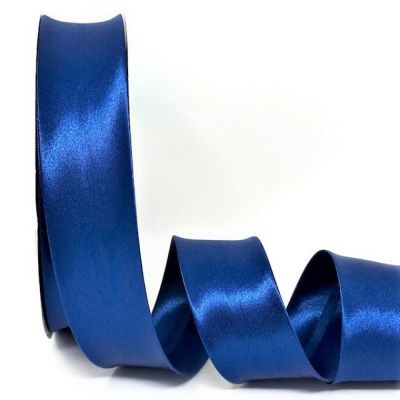Satin Bias Binding - Royal Blue - 18mm Or 30mm Wide