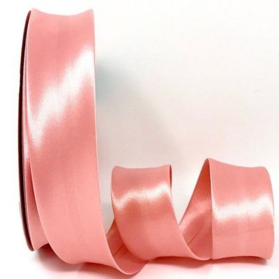 Satin Bias Binding - Rose Pink - 18mm Or 30mm Wide