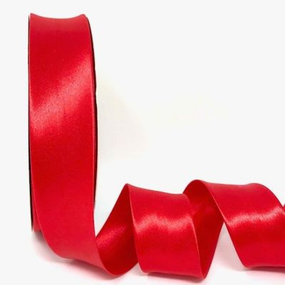 Satin Bias Binding - Red - 18mm Or 30mm Wide