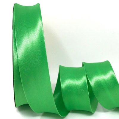 Satin Bias Binding - Apple Green - 18mm Or 30mm Wide